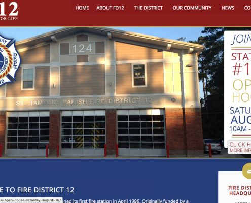 FD12 Web Design | Covington, Louisiana | MDG