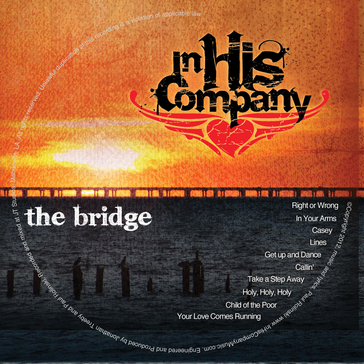 In His Company The Bridge CD Design | MDG Marketing Firm | Covington, Louisiana