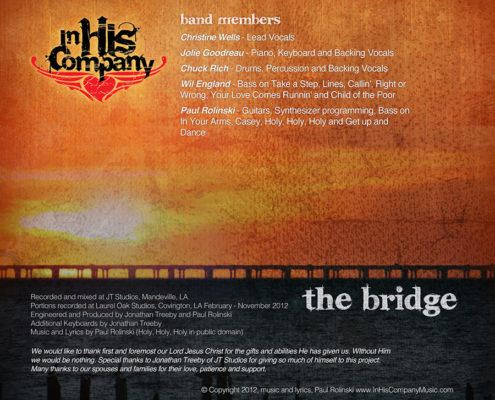 The Bridge CD Cover Design | Louisiana | MDG