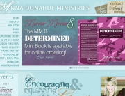 Anna Donahue Ministries Web Design | MDG Marketing Firm | Covington, Louisiana