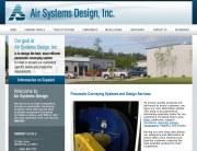 Air Systems Design Web Design | MDG Marketing Firm | Covington, Louisiana