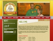 Fat Mama's Tamales Web Design | MDG Marketing Firm | Covington, Louisiana