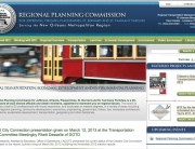 New Orleans Regional Planning Commission Web Design | MDG Marketing Firm | Covington, Louisiana