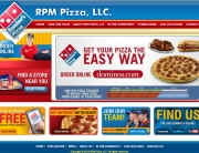 RPM Pizza Web Design | MDG Marketing Firm | Covington, Louisiana