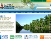 Lake Pontchartrain Basin Foundation Web Design | MDG Marketing Firm | Covington, Louisiana